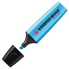 Textmarker Boss blau