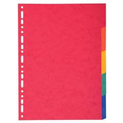 Register A4 5tlg., farbig, blanko
