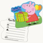 Einladungskarten Peppa Pig