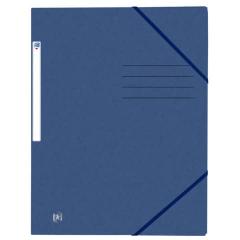 OXFORD Eckspannmappe A4 dunkelblau