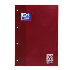Oxford Schulblock A4- 50 Blatt Lin. 28