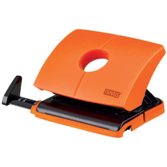 Novus Locher B216  funny orange
